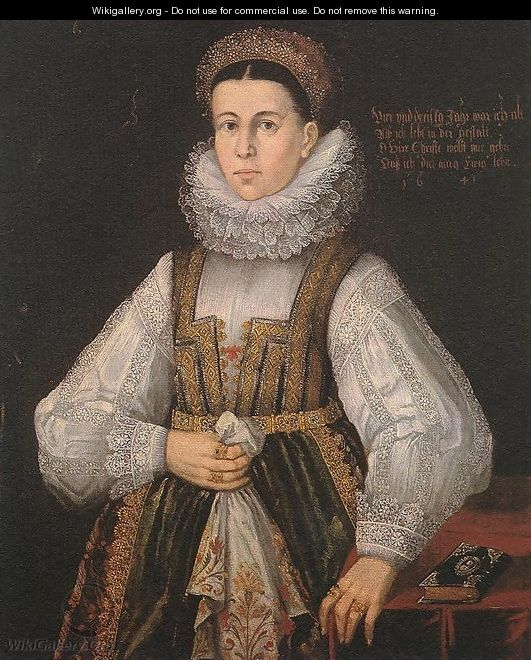 Middle Class Woman of Locse 1641 - Hungarian Unknown Masters