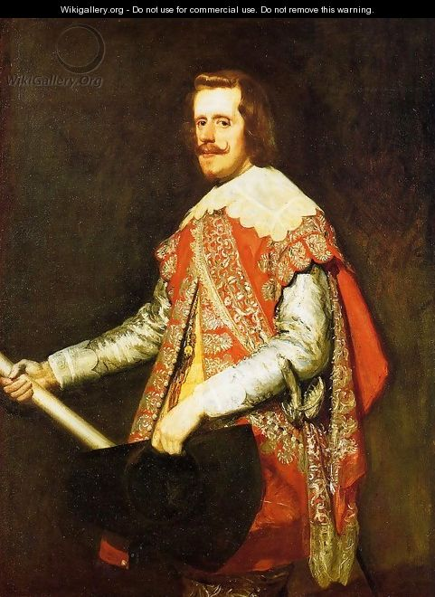 Phillip IV in Army Dress (The portrait of Fraga) 1644 - Diego Rodriguez de Silva y Velazquez