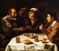 Peasants at the Table (El Almuerzo) c. 1620 - Diego Rodriguez de Silva y Velazquez