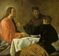 The Supper at Emmaus c. 1620 - Diego Rodriguez de Silva y Velazquez