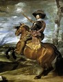 The Count-Duke of Olivares on Horseback 1634 - Diego Rodriguez de Silva y Velazquez