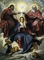 The Coronation of the Virgin 1645 - Diego Rodriguez de Silva y Velazquez