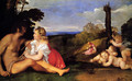 The Three Ages of Man 1511-12 - Tiziano Vecellio (Titian)