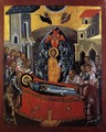 The Dormition of the Mother of God 1590s - Bulgarian Unknown Masters