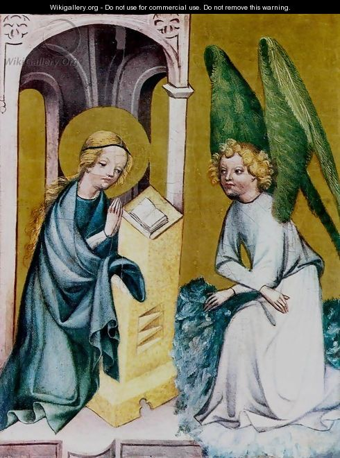 The Annunciation c. 1410 - Bohimian Unknown Masters