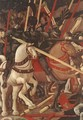 Bernardino della Ciarda Thrown Off His Horse (detail-1) 1450s - Paolo Uccello