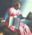 Allegorical Portrait of Dante 1530 - Italian Unknown Masters