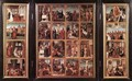 Triptych with Scenes from the Life of Christ 1500-05 - Flemish Unknown Masters