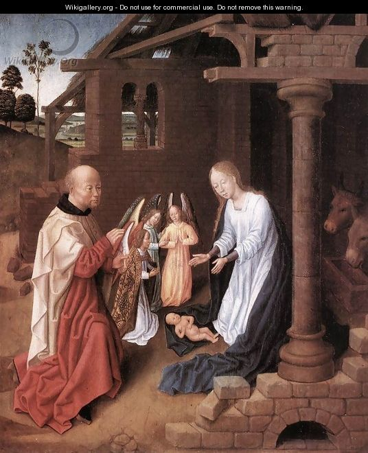 Nativity 1475-1500 - Flemish Unknown Masters