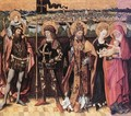 Sts Anne, Christopher, Gereon and Peter c. 1480 - German Unknown Master