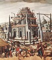 The Tower of Babel 1590s - German Unknown Masters