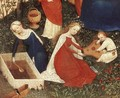 The Garden of Eden (detail-4) c. 1410 - German Unknown Masters
