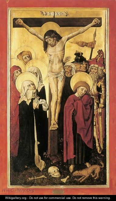 Crucifixion c. 1445 - German Unknown Masters
