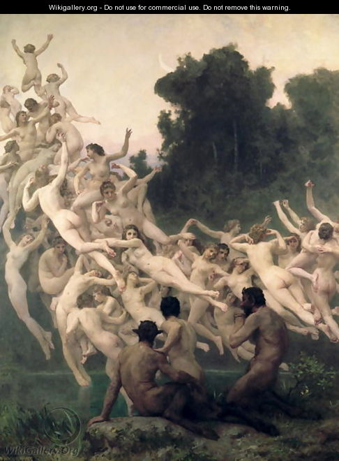 The Oreads, 1902 - William-Adolphe Bouguereau