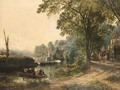 The inn at Hanham ferry near Bristol 1872 - Samuel Bough