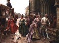 Arrival for the Wedding - Paul Emile Boutigny