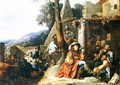 Bohemians and Soldiers at Rest - Sébastien Bourdon