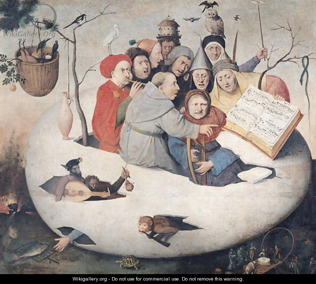 The Concert in the Egg - Hieronymous Bosch