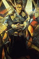 Portrait of a Seated Woman - Umberto Boccioni