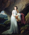 Portrait of a Woman in a Cave, possibly Madame d'Aucourt de Saint-Just, 1805 - Louis Léopold Boilly