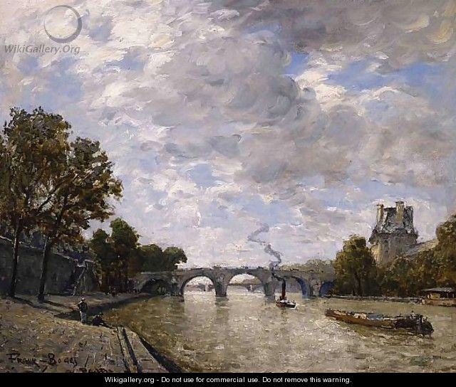 Along the Seine, Paris - Frank Myers Boggs