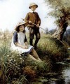 The young anglers 1915 - William Kay Blacklock