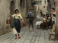 Catch of the day 1898 - Eugene de Blaas