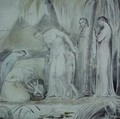 The compassion of Pharaoh's Daughter or The Finding of Moses - William Blake