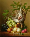 Still Life with Fruit and a Dead Partridge - Arnoldus Bloemers