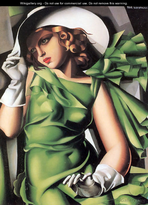 Young Lady with Gloves, 1930 - Tamara de Lempicka