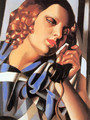 The Telephone II, 1930 - Tamara de Lempicka
