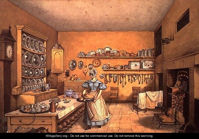 Kitchen at Langton Hall - Mary Ellen Best