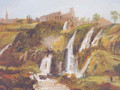 The falls at Tivoli - Carlo Bevilacqua