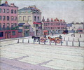 Cumberland Market, North Side, 1912 - Robert Polhill Bevan