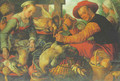 Peasants at a poultry stall - Joachim Beuckelaer