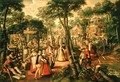 Country Celebration, 1563 - Joachim Beuckelaer