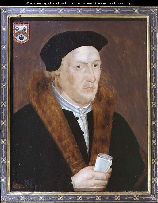 Portrait of Sir Thomas Exmewe - John, the Elder Bettes