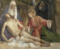 Mourning the Dead Christ at the Foot of the Cross - Giovanni Bellini