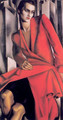 Portrait of Mrs Bush, 1929 - Tamara de Lempicka