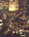 The Entrance of the Animals into the Ark - Jacopo Bassano (Jacopo da Ponte)