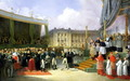Inauguration of a Monument in Memory of Louis XVI - Joseph Beaume