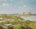 The City Walls of Aigues-Mortes 1867 - Frederic Bazille