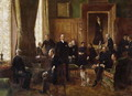 The Salon of the Countess Potocka 1887 - Jean-Georges Beraud