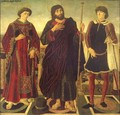 Altarpiece of the SS. Vincent, James and Eustace 1468 - Antonio Pollaiolo