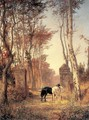 In the Park- The Village of Veules in Normandy 1874 - Vasily Polenov