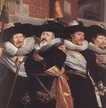 Officers of the Civic Guard of St Adrian (detail) 1630 - Hendrick Gerritsz Pot