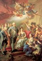 Commemorative Painting of Charles IV's Visit to Valencia University - Vincente Lapez Y Portana