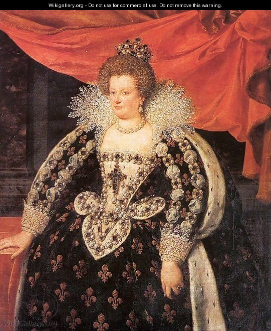 Marie de Médicis, Queen of France 1611 - Frans, the Younger Pourbus