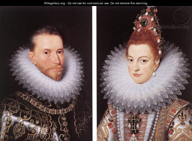 Archdukes Albert and Isabella - Frans, the Younger Pourbus