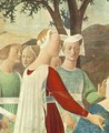 Adoration of the Holy Wood (detail-3) c. 1452 - Piero della Francesca